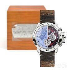 Star Wars laterales de luz/lado Oscuro Reloj De Coleccionistas Edición Limitada Oficial
