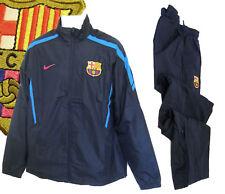 Nouveau Nike Hommes Club de Football Barcelona Survêtement Bleu Marine Petit