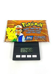 Topps Pokemon TV Animation Edition Booster Pack 17.468g - Factory Sealed!