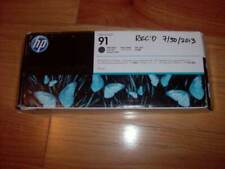 exp2016 New Genuine HP 91 Matte Black Ink Cartridge for Designjet Z6100 C9464A