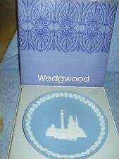 WEDGWOOD 1970 CHRISTMAS PLATE - TRAFALGAR SQUARE - NEW IN BOX CONDITION