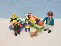 Moderne Familie zu Wohnhaus Einfamiliehaus 9266 4279 Playmobil 027