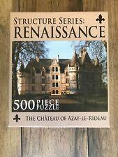 The Chateau of Azay-Le-Ri XI Media Structure Series Renaissance 500 Piece Puzzle