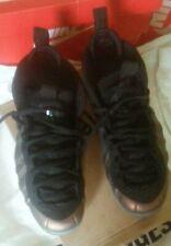Nike Air Foamposite Pro Black Gym Green UK 10 Penny Copper Basketball Retro 2012