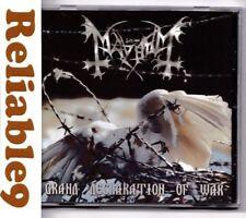 Mayhem - Grand declaration of war CD Original edition- 199/2000 Season Of Mist