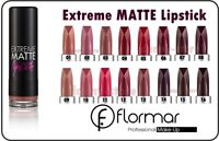 FLORMAR Extreme Matte Lipstick 16 Colors Smooth & Matte Finish Free Delivery