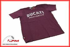 Original Ducati Performance Wear T-Shirt Tshirt shirt Meccanica Größe L Neu
