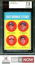 1963 TOPPS #537 PETE ROSE RC REDS BVG 7.5 A9941-292