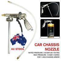 AU 1/4'' Car Underbody Coating Spray Gun Underseal Schutz Under Body Air Waxoy