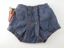 Vintage Cowboy Diaper Jeans Denison Texas Medium 18-22 lbs. w/ Holster