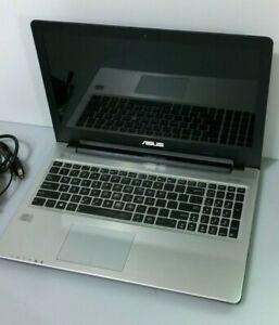 "ASUS S56CA Notebook 15.6"" HD Laptop i3 12 RAM 128GB 24GB SanDisk SSD Wind 10 Pro"
