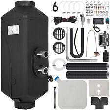 le 12V 5KW Diesel Air Heater Tank LCD Control Silencer Fliter Y Remote ok
