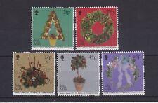 ISLE OF MAN MNH UMM STAMP SET 2001 CHRISTMAS DECORATIONS SG 965-969