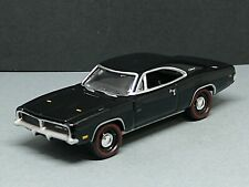 1969 DODGE CHARGER R/T BLK ADULT COLLECTIBLE DIECAST 1/64 SCALE LIMITED EDITION