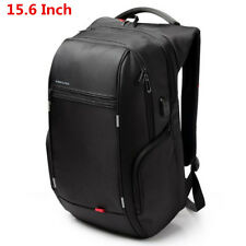 Waterproof 15/17 Inch Men Notebook Nylon Laptop Backpack USB Charge Computer Bag
