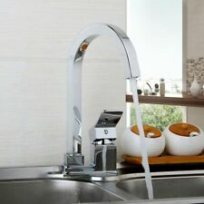 Deck-mounted Swivel Faucets For Kitchen Sink Bathroom Washbasin Water Tap Faucet