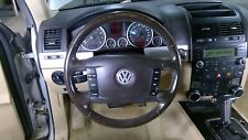 04-10 VW Touareg Brown Leather Steering Wheel