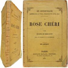 Rose Chéri Montigny 1855 Eugène de Mirecourt Contemporains biographie portrait