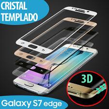 PROTECTOR DE PANTALLA CRISTAL CURVO TEMPLADO 3D PARA SAMSUNG GALAXY S7 EDGE
