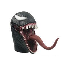 Venom Spiderman Mask Cosplay Edward Brock Superhero Venom Latex Masks Helmet TY