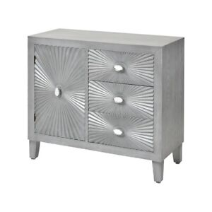 Stein World Essex 3-Drawer 1-Door Credenza, Gray - 17266