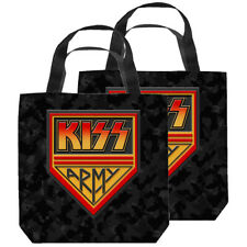 "Kiss ""Kiss Army"" Tote Bag - 4 sizes"