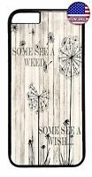 Cute Dandelion Life Quote Fashion Case Cover For iPhone 7 6 6s Plus 5 5s 5c 4s
