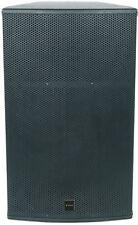 "CITRONIC CX-5008 PASSIVE PROFESSIONAL BLACK SPEAKER 15"" 500W W/ STEEL GRILLE"