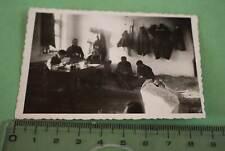 tolles altes Foto - Gruppe Soldaten Kroatenlager  Kroatische Legion ? Russland ?