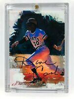 Rare Ed Vela/ Dave Cash Dual Signed Autograph Limited Sketch card 1/1 JSA/COA