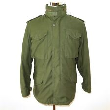 VINTAGE ORIGINAL US ARMY M-65 M65 FIELD COAT JACKET  WITH LINER 1980 SMALL ALPHA