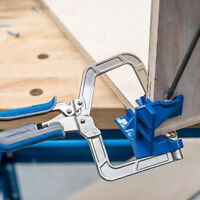 90° Right Angle Kreg KHCCC Corner Clamp ''T'' joints Woodworking Clamping Kit ZE