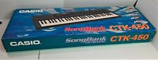 Casio CTK-450 SongBank Keyboard CTK-450 New Open Box with Music Stand *203