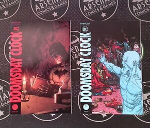 Doomsday Clock #1-12 2018 DC Comics Set Geoff Johns Watchmen JLA Batman Superman