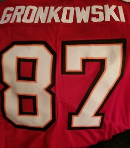 2 Left Rob Gronkowskie #87 Nike Stiched On Field 3XL Tampa Bay Buccaneers Jersey