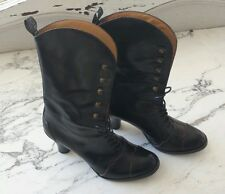 Sartore Vintage Style Lace Up Boots Barneys NY Black Size 36 Retail $1195