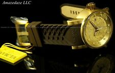 Invicta Men S1 Yakuza Dragon NH35A Automatic 18K Gold IP Stainless Steel Watch