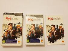 Play English Edicion Coleccionista Sony PSP pal España y completo