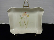 Baatz Vintage Wild Flowers Hand Painted Candy / Nut Dish in New Condition