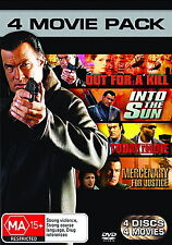 Out For A Kill - Into The Sun - Today You Die - Mercenary For Justice - NEW DVD