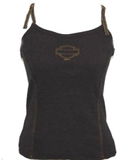 HARLEY DAVIDSON LADIES BUILT BRA TANK SHIRT (L)