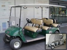Deluxe 6 Passengers Golf Cart Cover fits E Z GO, Club Car, Yamaha model in Grey