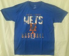 NEW  NEW YORK METS DISTRESSED LOOK GENUIME MERCHENDISE TSHIRT MEN'S EXTRA LARGE