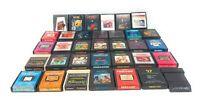 Large Lot Of 34 Atari 2600, Activision, Atari game Cartridges Pac-Man G.I. Joe
