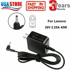 45W For Lenovo Charger Ideapad 100s Input 20V 2.25A AC Adapter ADL45WCC FAST