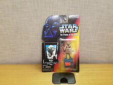 Star Wars Power of the Force Yoda Jedi Trainer Backpack figure, Red Card, New!