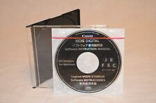 New OEM Canon EOS Digital Software Instruction Manual - CT1-7131-000