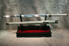 """Hand Forge Chinese Sword """"Han Jian """" High Carbon Steel Sharp Alloy Fitting"""