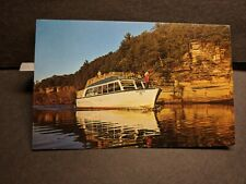 Sight-seeing boat CHIPPEWA, WISCONSIN DELLS, WIS Naval Cover unused postcard