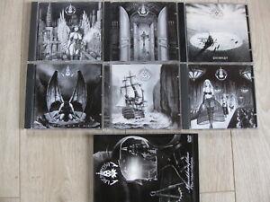 LACRIMOSA Sammlung: 6 Musik-CDs und 1 DVD mit Live-Aufnahmen als Komplettpaket
